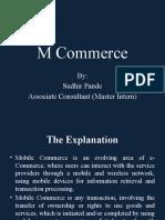 M Commerce Final Report