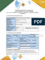 Guía de actividades y rúbrica de evaluación - Identificar diálogo de saberes.docx