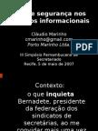Ética e segurança nos recursos informacionais