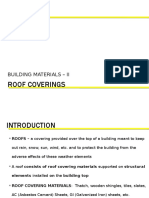 Unit 6-ROOF COVERINGS