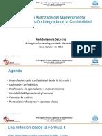 Aleck Santamaria - Planeación Avanzada del Mantenimiento Hacia una gestión integrada de la confiabilidad