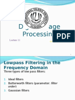 DIP Chap 4 (Filtering in the Frequency Domain) Lect 11