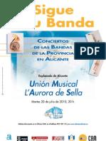 Cartel Banda Sella