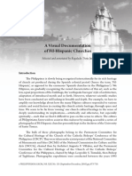 A Visual Documentation of Fil Hispanic Churches