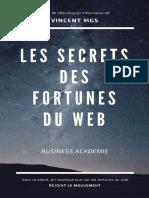 Les secrets des fortunes du web - Vincent Mongis.pdf