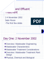 Sewage and Effluent Treatment Presentation Taster