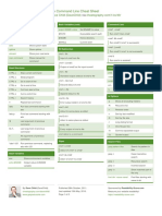 Linux Command Line Cheat Sheet by DaveChild - Cheatography