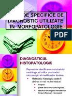 METODE  IN  MORFOPATOLOGIE lectia1