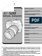 E-500 Advanced Manual_ES