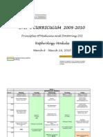 Nephrology Block Schedule