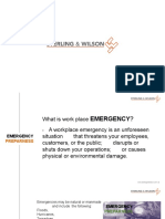 ERP, Fire, First Aid
