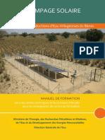 Manuel  pompage solaire pour les AEV