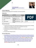 Resume (Usman Javed)