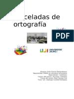 PINCELADAS DE ORTOGRAFÍA