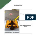 Floor Marking example