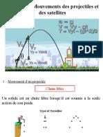 Chapitre 7 - Mouvements des projectiles et des satellites
