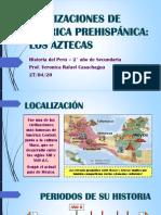 Civilizaciones de América Prehispánica. Aztecas (2° Sec) (1)