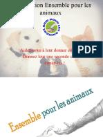 L'association Ensemble pour les animaux