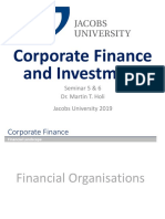Finanical Organisations