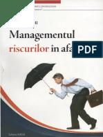 121682004 Managementul Riscurilor in Afaceri