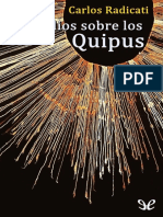 Radicati di Primeglio, Carlos - Estudios sobre los quipus