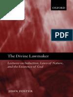 Theism - Foster - The Divine Lawmaker.pdf