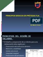 Principios básicos en prótesis fija