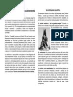 Conceptos centrales de historiografía. Método de análisis materialista.