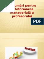 prezentare pentru formare