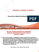 Coke Micro Distribution in Africa
