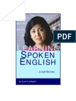 Learning Spoken English