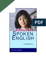 Learning Spoken English