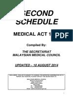 Second Schedule - Updated 20140810.pdf