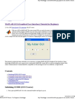 MATLAB GUI (Graphical User Interface) Tutorial for Beginners