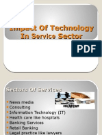 impact of technology on the service sector