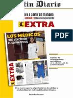 Edición Listín Diario- 12 de mayo de 2020