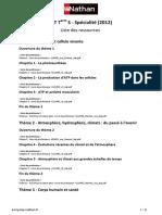 liste de resources - bordas - livre prof