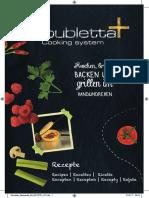 Doubletta főzőedény receptek