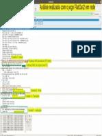 Análise pacote dados jogo