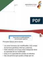 PRESENTACION TEORIA DE LA MODIFICABILIDAD