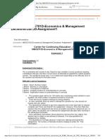 Take Test_ MBCE701D-Economics & Management Decisions-Jan 20-.._