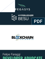 Blockchain Colombia - PegaSys, Hyperledger Besu and PegaSys Plus