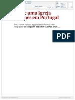 2019.05.11 Nasce uma Igreja por mês em Portugal