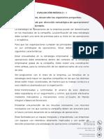Evaluacion Modulo 1 del diplomado en administracion y gestion de empresas