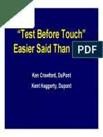 09 Presentación Test antes de tocar