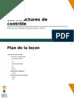C++  - Les Structures de Contrôle