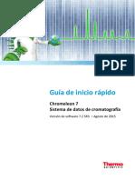 Guía de inicio rápido - Chromeleon 7.2 SR3