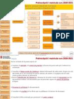 Presentació Preinscripció Estudis Obligatoris 2020-2021