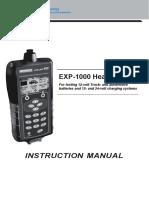 EXP-1000HD - 167-090gb-b-manual-exp-1000-hd-eu