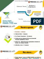 Primera Asistencia Técnica Desarrollo Personal Ciudadanía y Civica